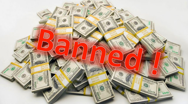 cash banned