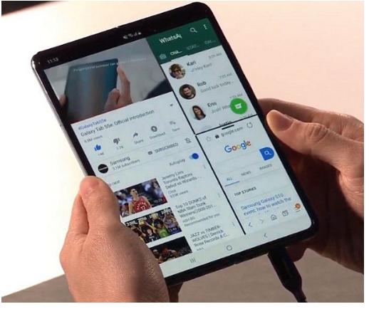 مواصفات و سعر Samsung Galaxy Fold – أول هاتف بشاشة قابلة للطي من سامسونج