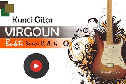 Kunci Gitar Virgoun - Bukti