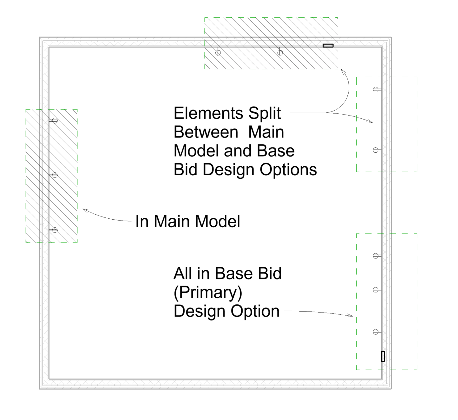 BIM Chapters: Revit Alternates; Phasing Vs. Design Options