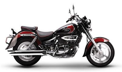 New Hyosung Aquila 250 cruiser bikes