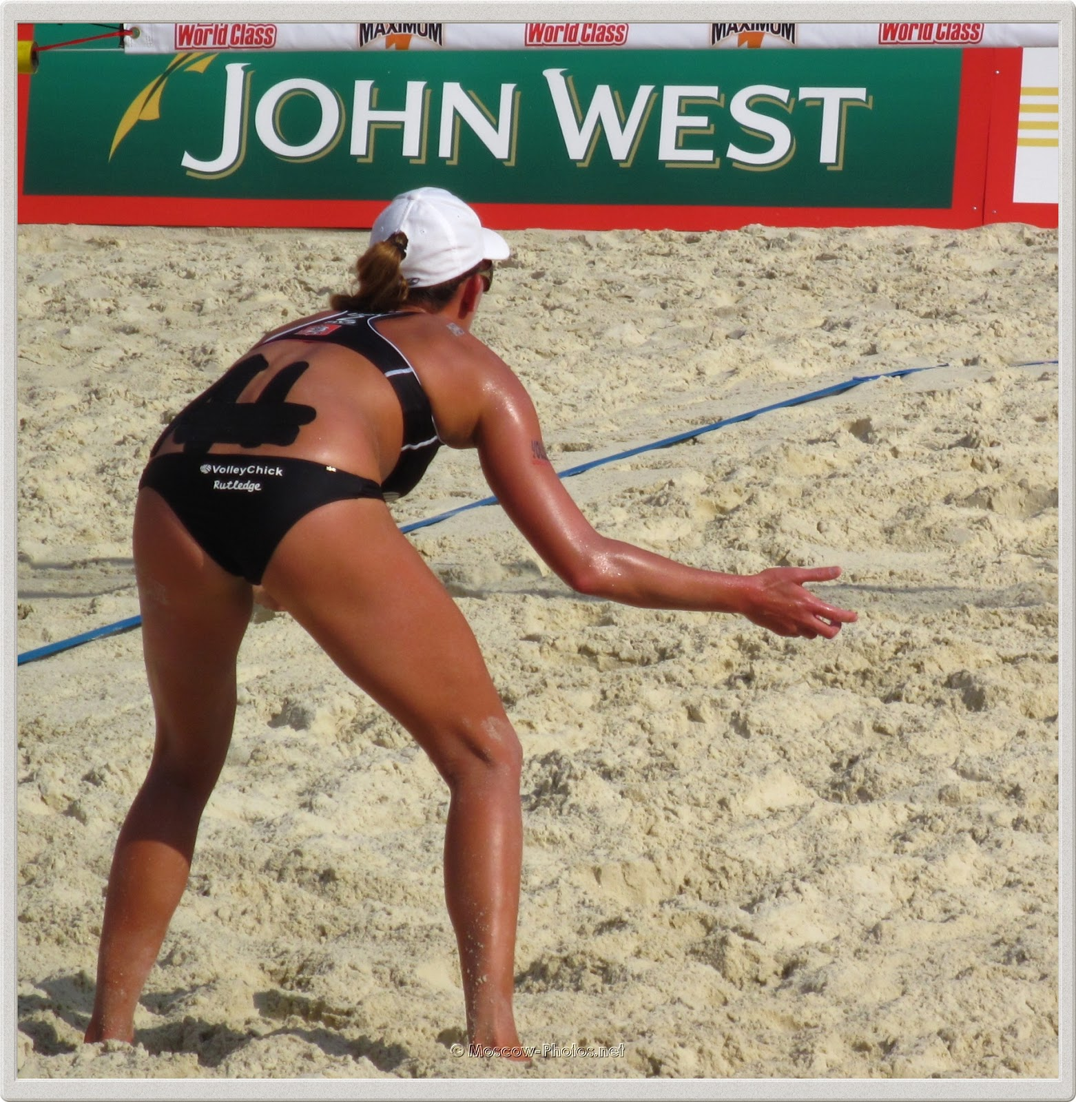 Beach Volleyball Player Lisa Rutledge (USA)