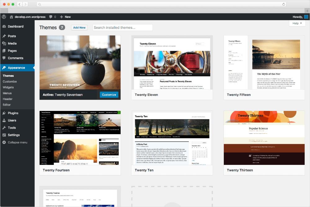 Criando um blog no Wordpress