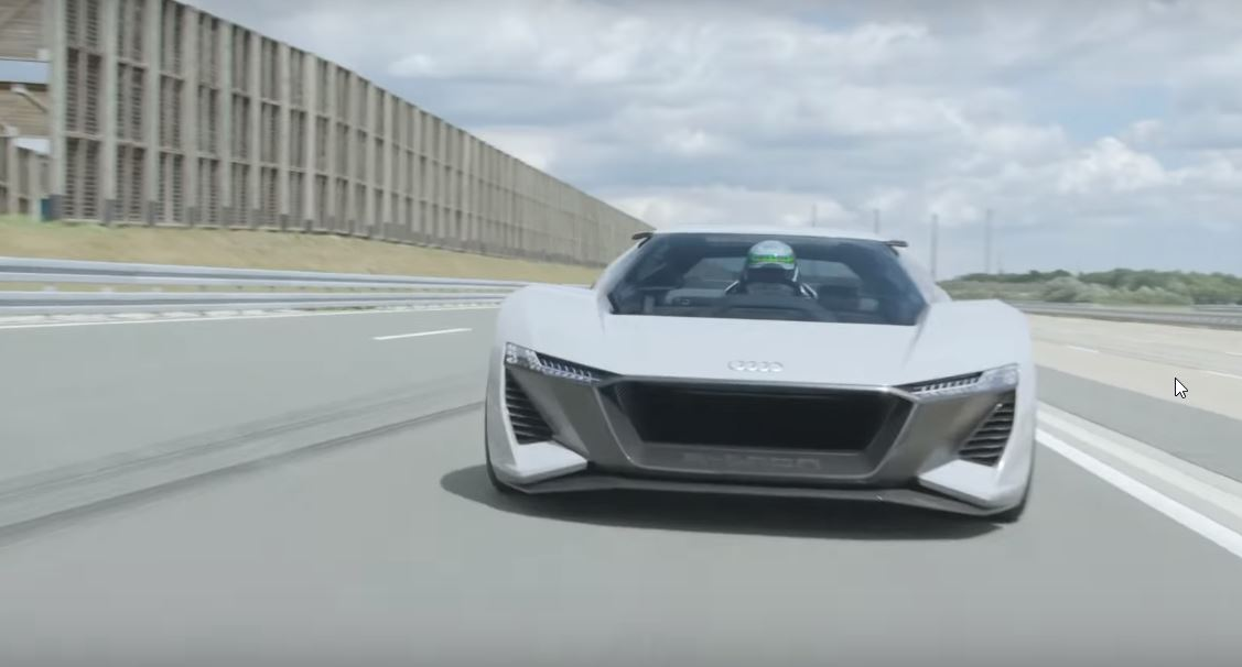 Audi Pb18 E Tron Concept With An Acceleration Less Than 2 Seconds
