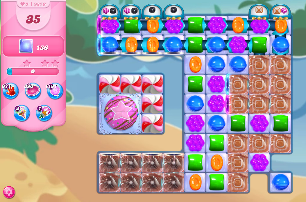 Candy Crush Saga level 9279