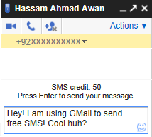 How To Send FREE SMS With Gmail To Any Mobile In Any Country?
