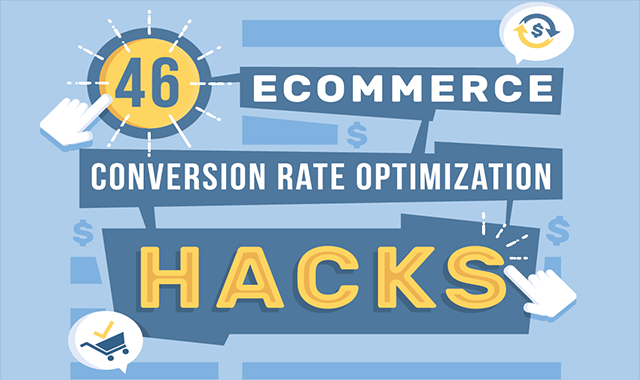 46 AWESOME STATISTICS ECOMMERCE #INFOGRAPHIC