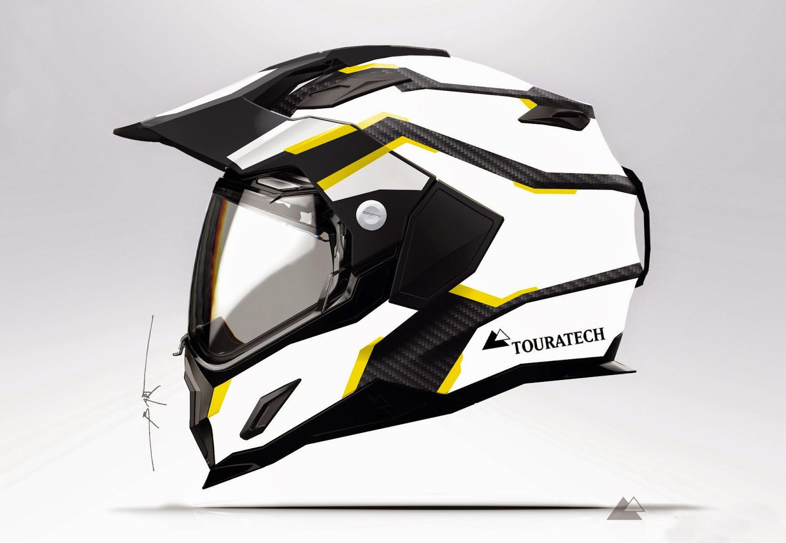 Touratech-CZ  Nová ultra-lehká přilba Touratech Aventuro Carbon 70f91cc7f9