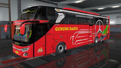 Gunung Harta Merah Scania K410