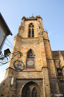 Il campanile della  Cattedrale di Colmar