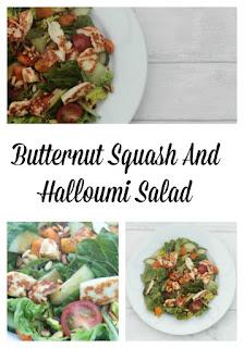 Butternut Squash And Halloumi Salad