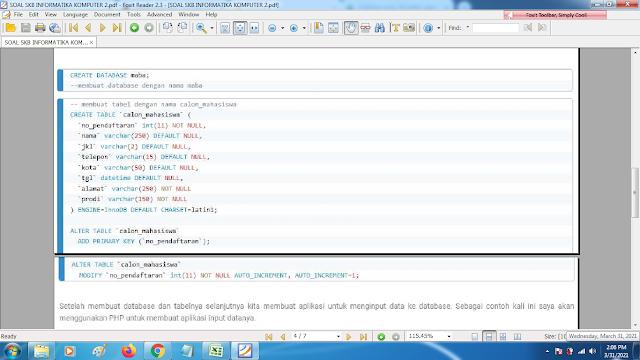 Download contoh soal pppk skb informatika komputer2 dan kunci jawaban