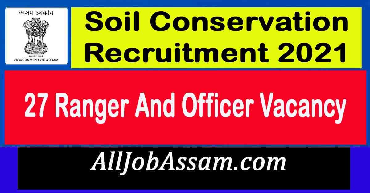 Soil Conservation Recruitment 2021