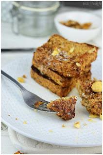 Receta de Tostadas francesas- Receta de French toast o tostada francesa- Cómo hacer una tostada francesa- Tostadas francesas light - Fácil