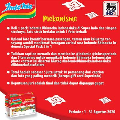 #Promosi247 - #Superindo - #Promo Photo Contest Bhinneka Indonesia Total Hadiah 5Juta Untuk 10 Orang (s.d 31 Agustus 2020)