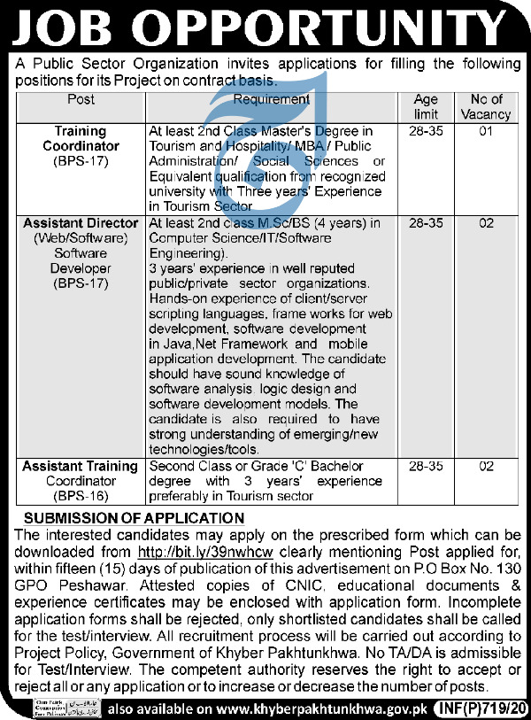 Jobs in Public Sector Organization  PAEC Latest Advertisement 2020