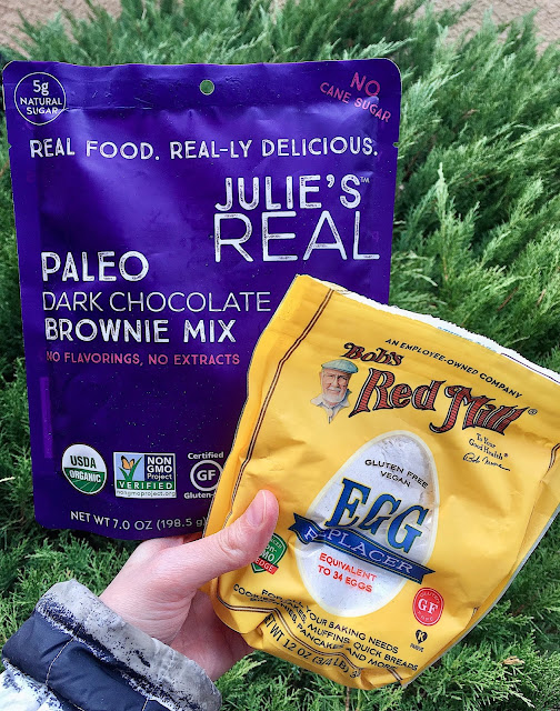 Super Fudgy Banana Paleo Brownies (Vegan, Gluten Free)