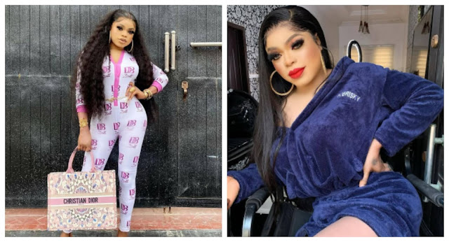I am the biggest girl in nigeria- Bobrisky says as he flaunts his naira notes (Video)