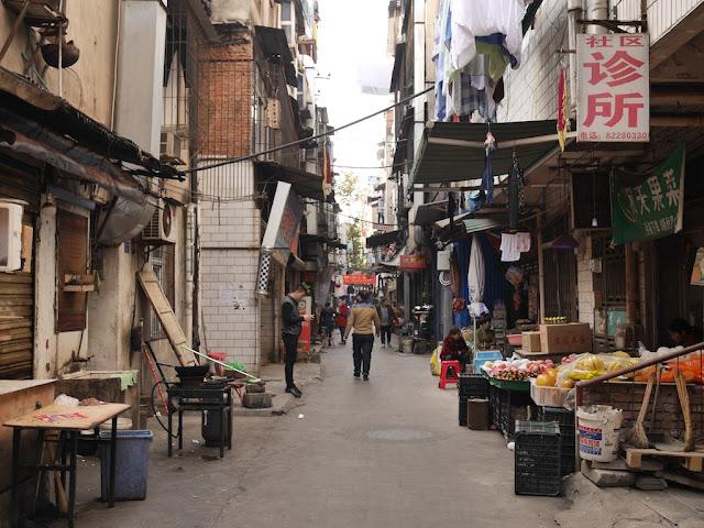 Gudesi Road (古德寺路) in Wuhan