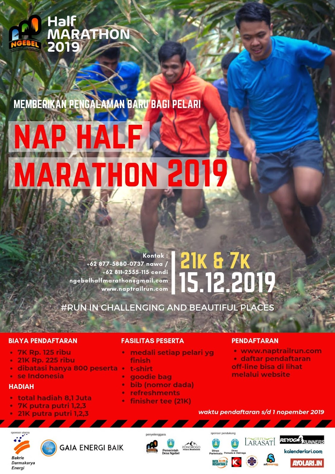 NAP Half Marathon • 2019
