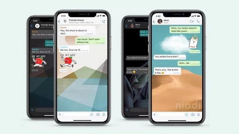 Fitur WhatsApp Terbaru, Tiap Kontak Bisa Menggunakan Wallpaper Yang Berbeda