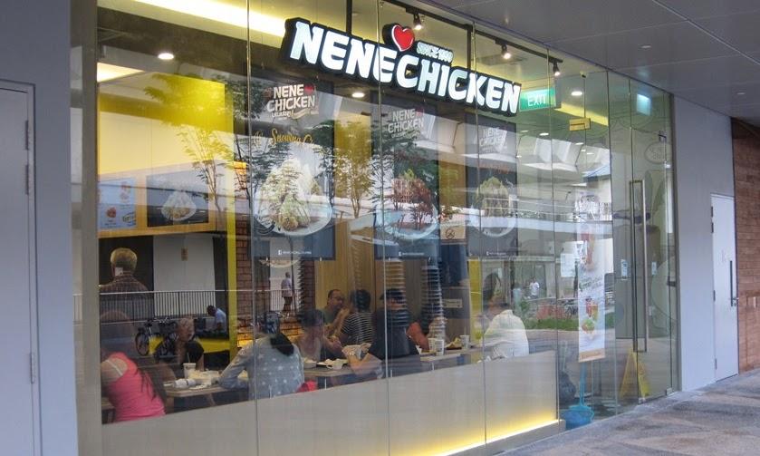 NENE Chicken 네네치킨, Singapore