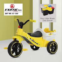 Sepeda Roda Tiga Anak Exotic ET709 Garbage Sorting Toy Baby Tricycle