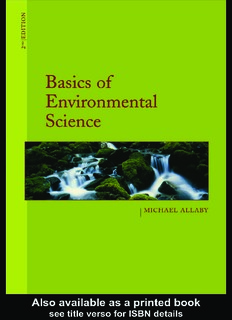 Basics of Environmental Science PDF Book By Michael Allaby