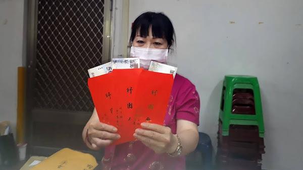 北斗鎮公所普發500元紓困金 鎮民直呼領現金尚實在