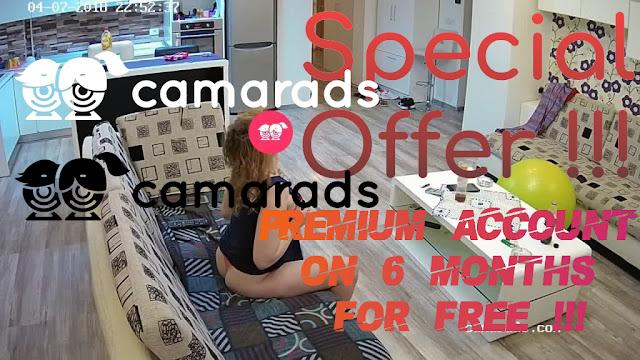 Camarads Premium Account 6 Months Free