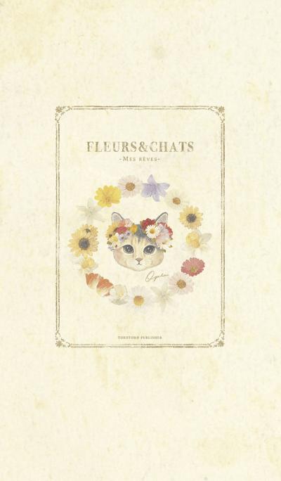 fleurs&chats