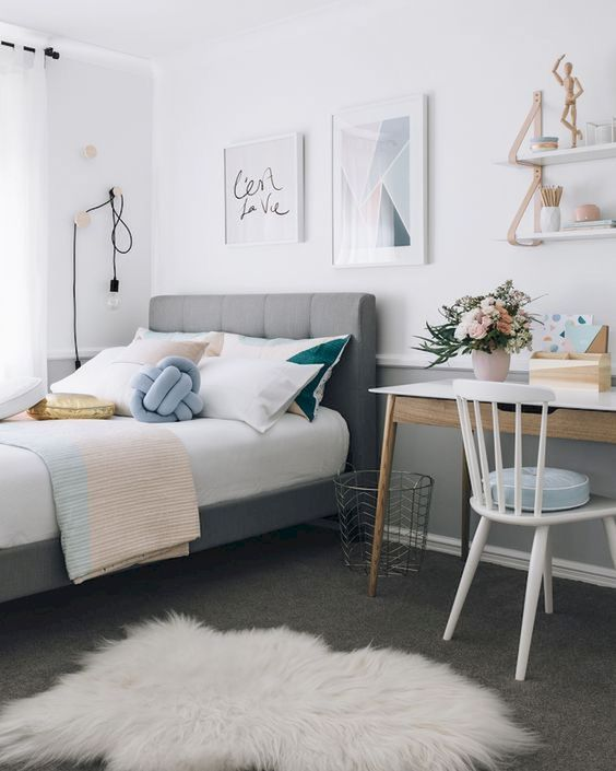 modern bedroom decoration idea to copy