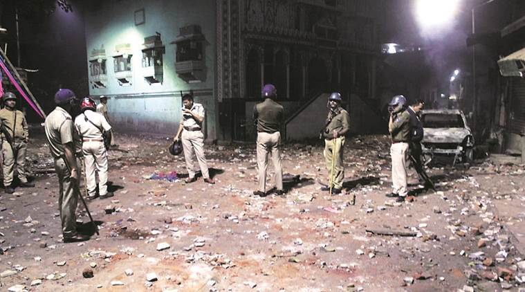 worker socialist: the clash between workers and the police at surat is only first spark of coming revolts!