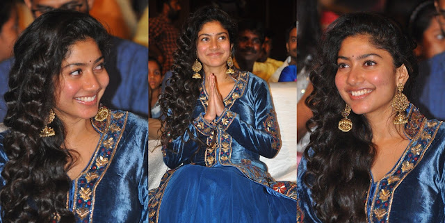 Actress Sai Pallavi Photos at Fidaa Movie Audio Launch
