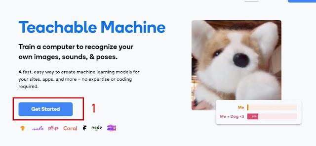 Google Teachable Machine