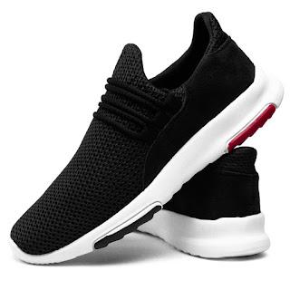Tênis Sneaker Leve Masculino Conforto Preto