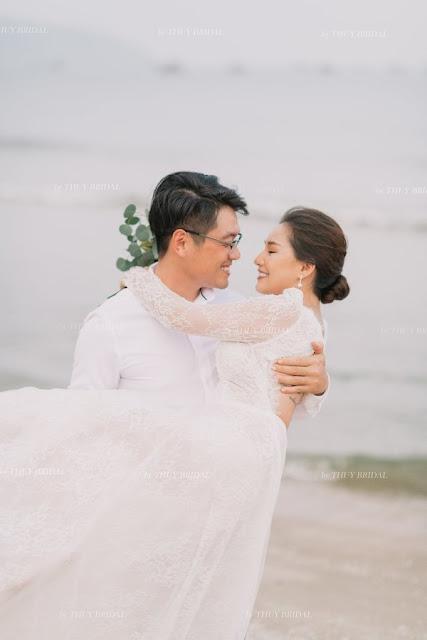 """Nhan sắc đúng chất """"nàng thơ"""" của vợ cố diễn viên Duy Nhân trong đám cưới lần 2 ở Hà Nội 4"""