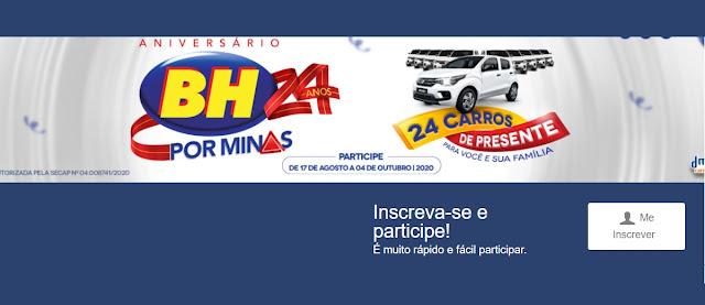 Participar Promoção 24 Anos BH Supermercados 2020 - Sorteios, Ganhadores