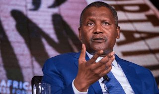 Dangote shuts down the dance floor with his moves (video)