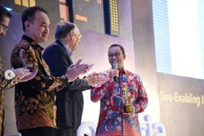 Pertamakali Dalam Sejarah Asia Tenggara, DKI Jakarta Dapat Penghargaan Geospasial