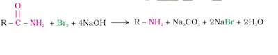 Hoffmann bromamide degradation reaction