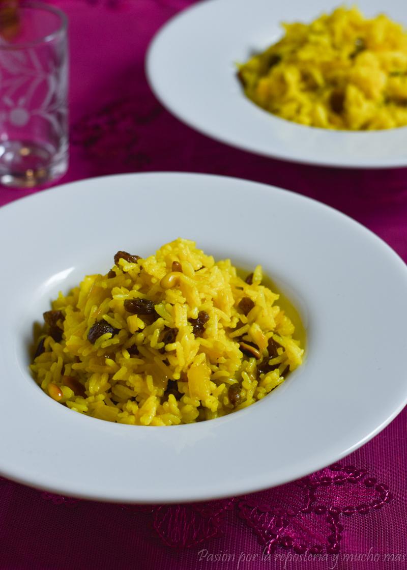 Recetas con arroz basmati