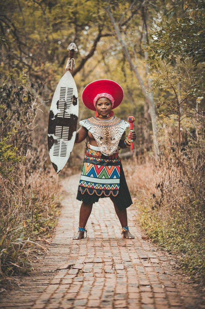 Makhadzi Heritage Day Outfit