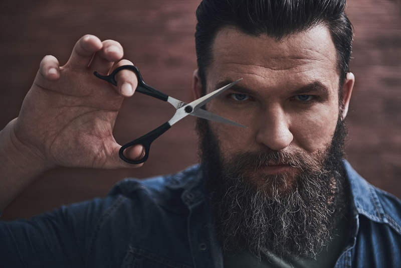 Dağınık saç ve sakal stili: Hipster