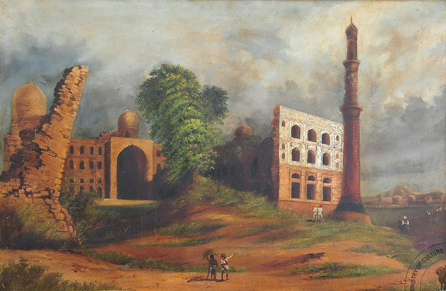 Mahmud Gawan's madrasa (School) at Bidar
