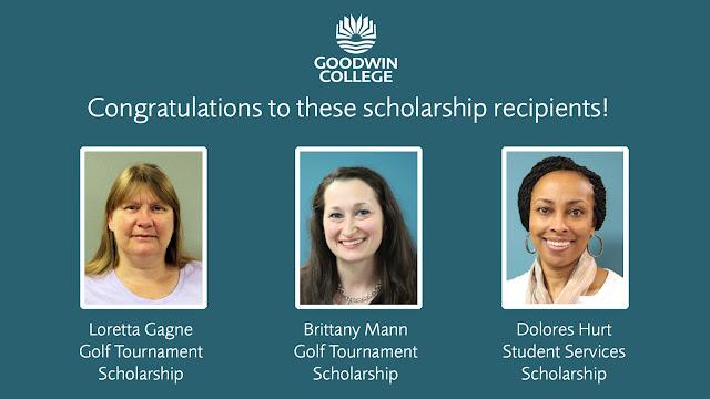 Scholarship recipient congratulations