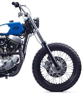 blue sands sportster tracker front end