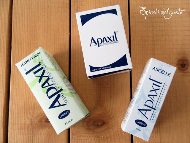 Qual'è la differenza fra un anti traspirante e un deodorante e come combattere l'eccessiva sudorazione con Apaxil