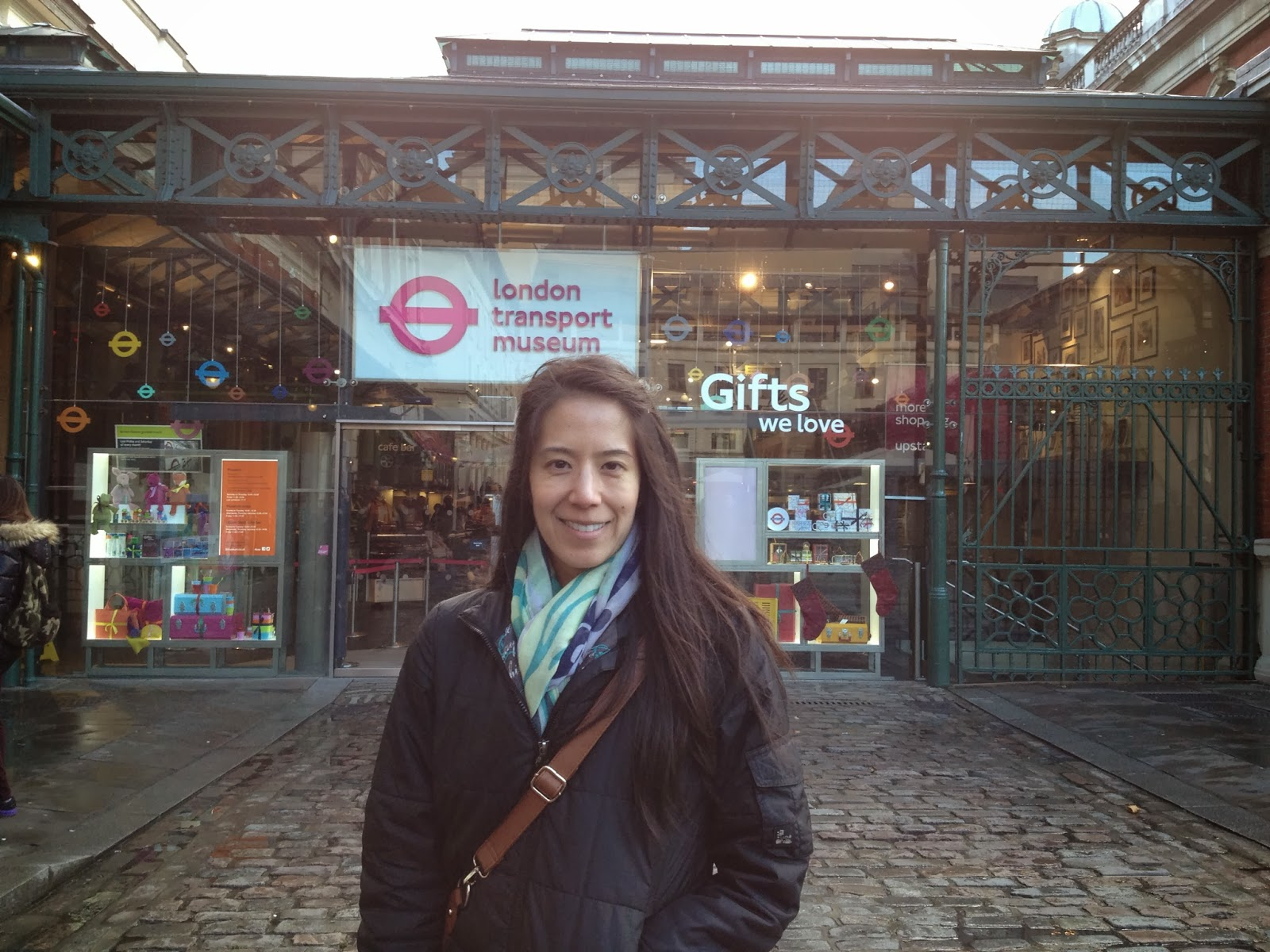 London - I HAD to go to the London Transport Museum!