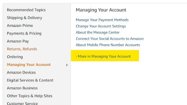 How to Delete Amazon Account
